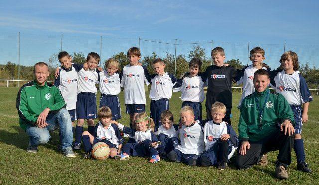 F-Jugendmannschaft am 12.10.2012